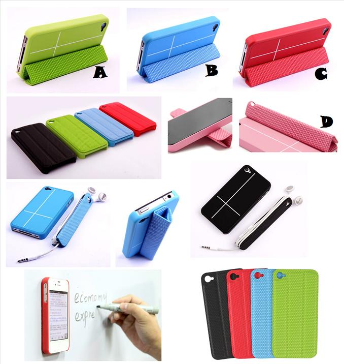 new arrival c4bf7 e49e8 iPhone 4 4S GUOER SMART Cover Case *FREE SP*