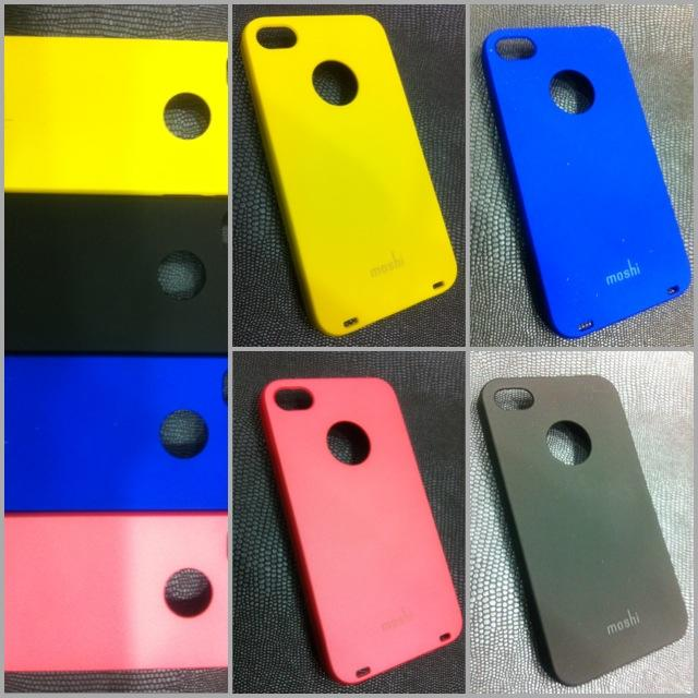 Iphone 4/4S MOSHI Hard Casing.