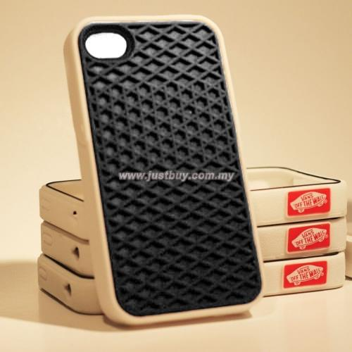 timeless design aa00b ecc3a iPhone 4/4s Vans Waffle Sole Rubber Case - Black