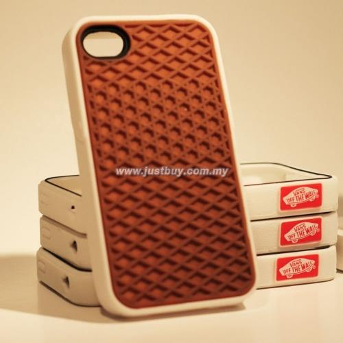 sports shoes a52b8 e01ab iPhone 4/4s Vans Waffle Sole Rubber Case - Brown