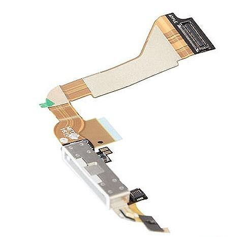 iPhone 4 Charging Sync Dock Flex Cable White