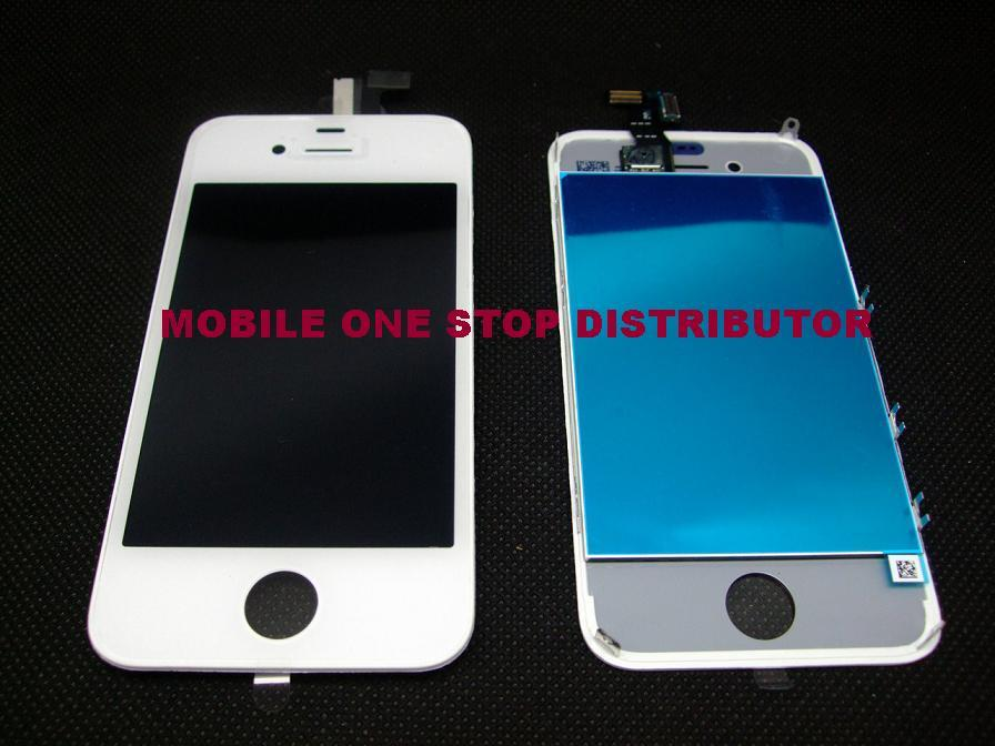 IPhone 4 LCD Digitizer / Touch Screen ( White ) / Repair