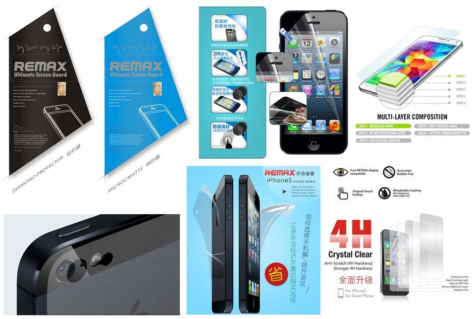 IPhone 5 5S 5C REMAX 4H DIAMOND HD (end 3/30/2021 10:15 AM