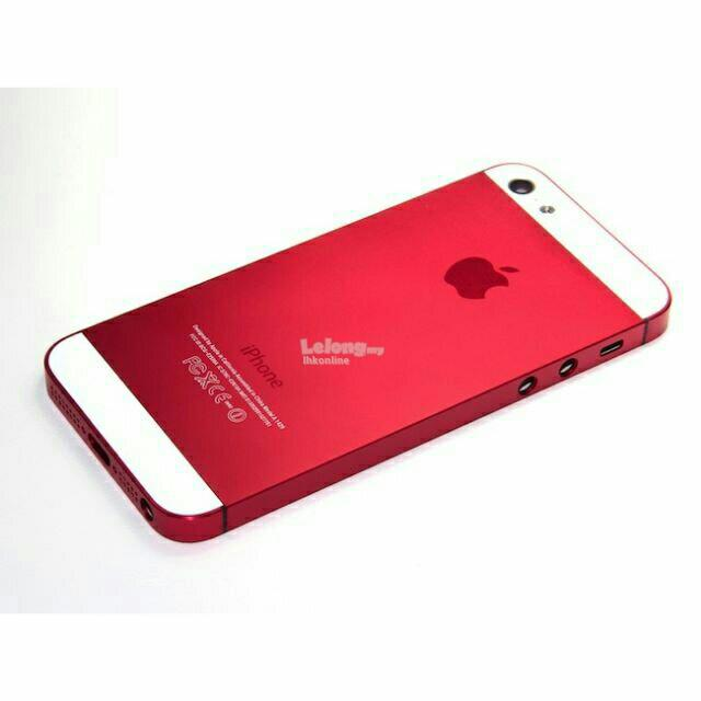 online store f659a 44337 Iphone 5 5S 5SE Red Black / Red White Housing Body FULLSET