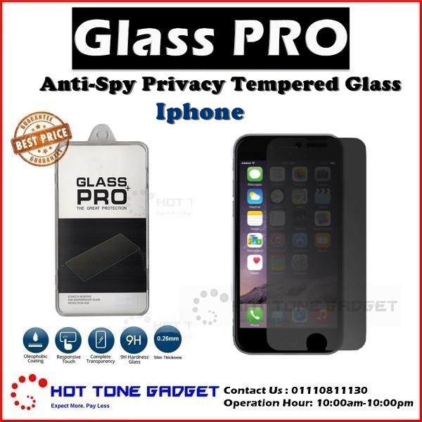 iPhone 5 5s 6 6s 7 8 Plus X Privacy Tempered Glass Screen Protector