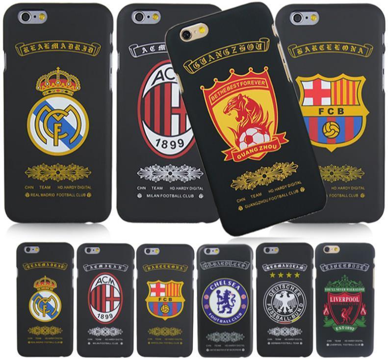 official photos 67a8a 5b3c4 iPhone 5 5S 6 6S / Plus Soccer Team Club Logo Phone Case Cover Casing