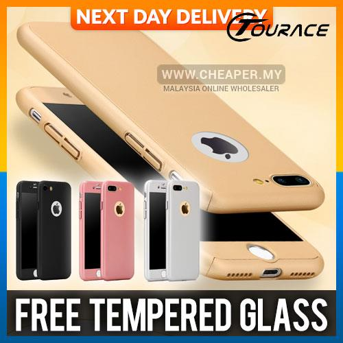iPhone 5 5S SE 6 6S 7 7S Plus 360 FULL Protection Case Cover Casing