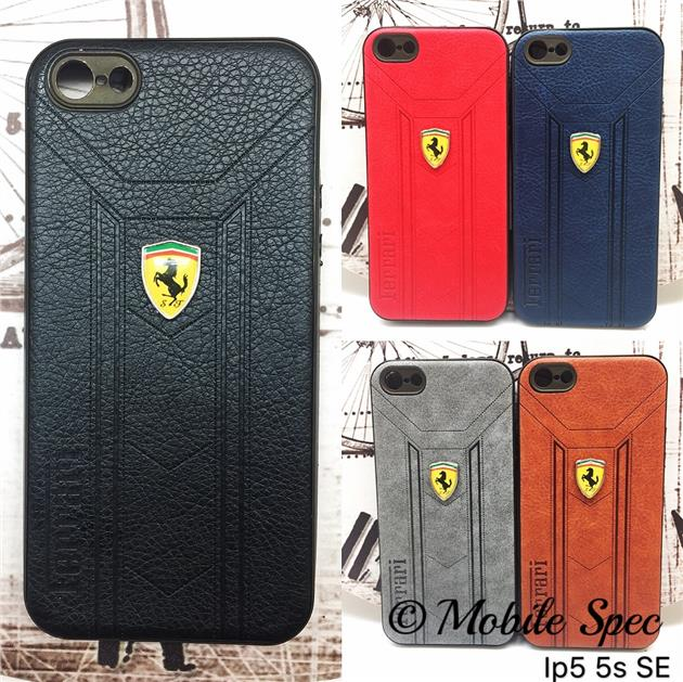 IPHONE 5 5S SE 6 6S 7 PLUS SOFT TPU SILICONE EXCLUSIVE FERRARI CASE