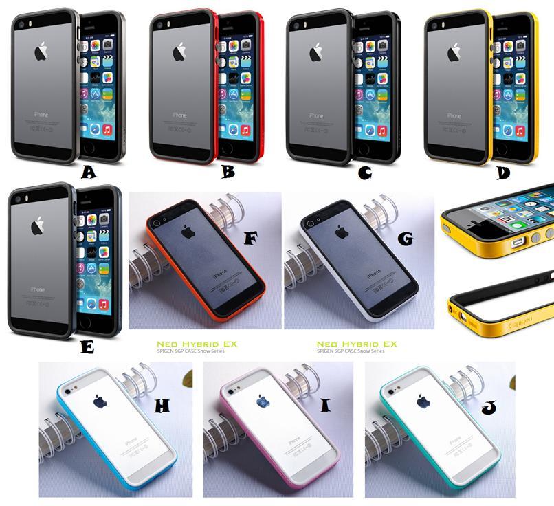 size 40 b703e 3d5bc iPhone 5 5S SE 6 6S Plus SPIGEN SGP NEO HYBRID EX Bumper Case Cover *F