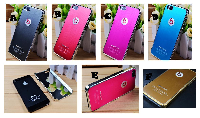 869a73ec446 iPhone 5 5S SE DR DRE BEAT Aluminium Metal Case Cover *FREE SP*