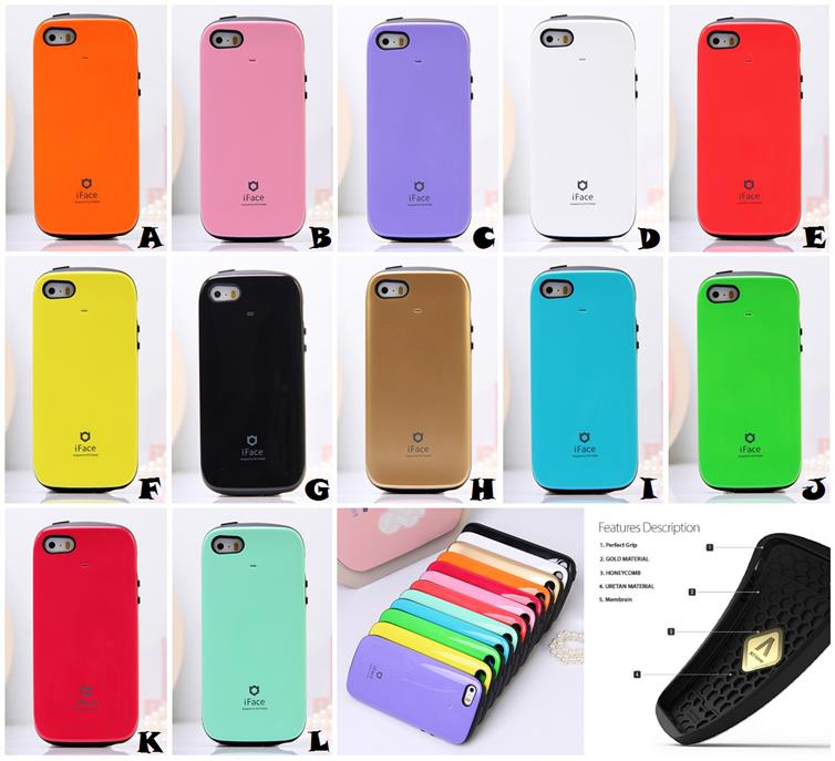huge selection of ed9ce 1acfe iPhone 5 5S SE iFACE Sensation 4th Generation Gen 4 Bumper Case Cover