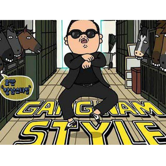 iPhone 5 Case [Gangnam Style case/casing/cover]