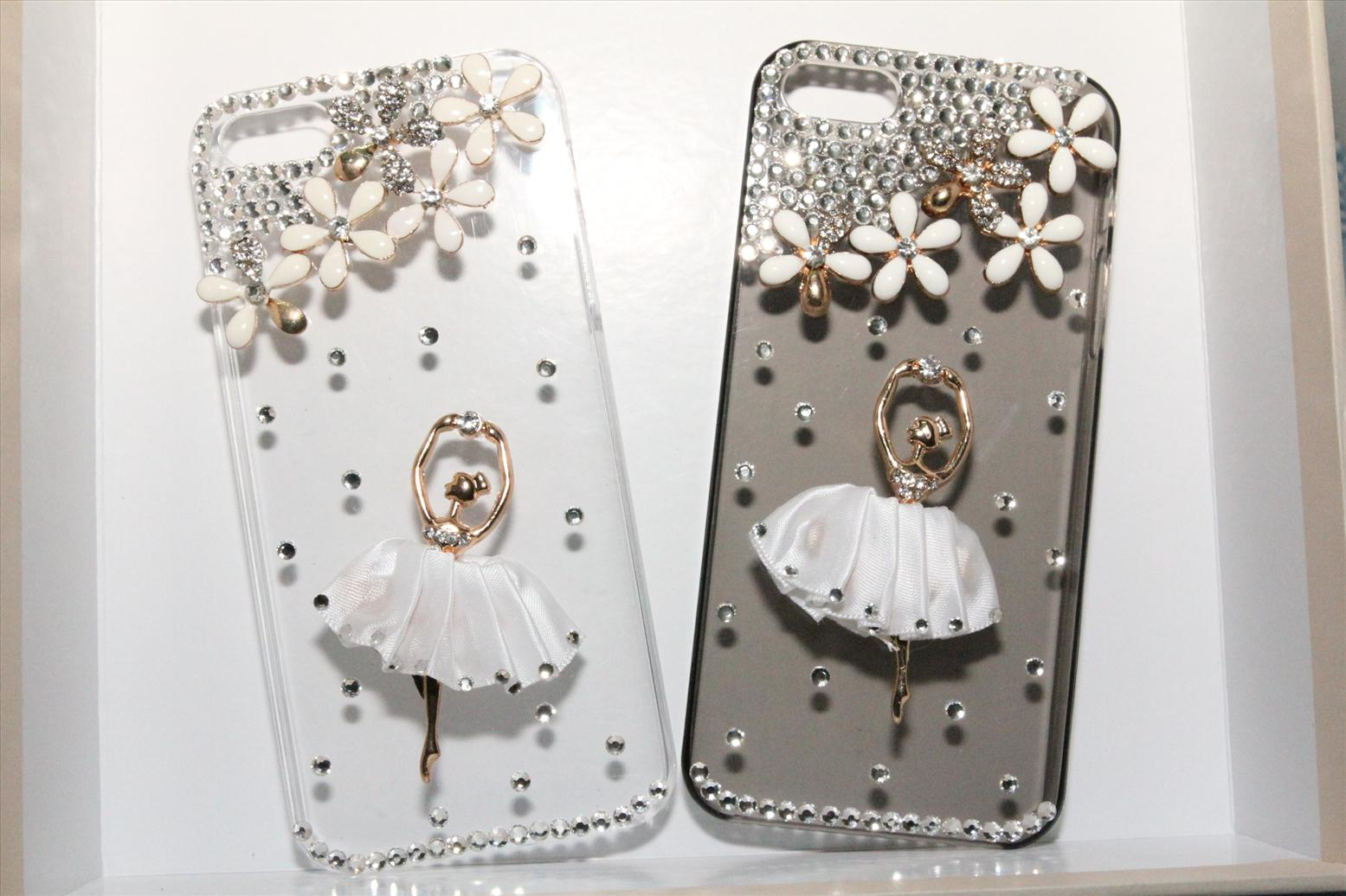 849ea001a6b4 Iphone 5   Iphone 4 Bling Bling case casing cover ballet girl. ‹ ›