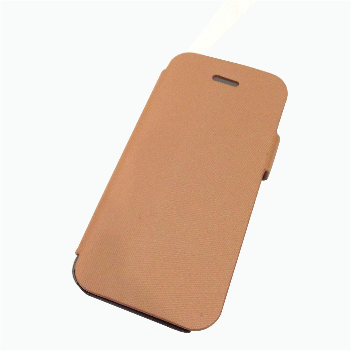 iPhone 5 / iPhone 5s Flip with stand cover - Brown