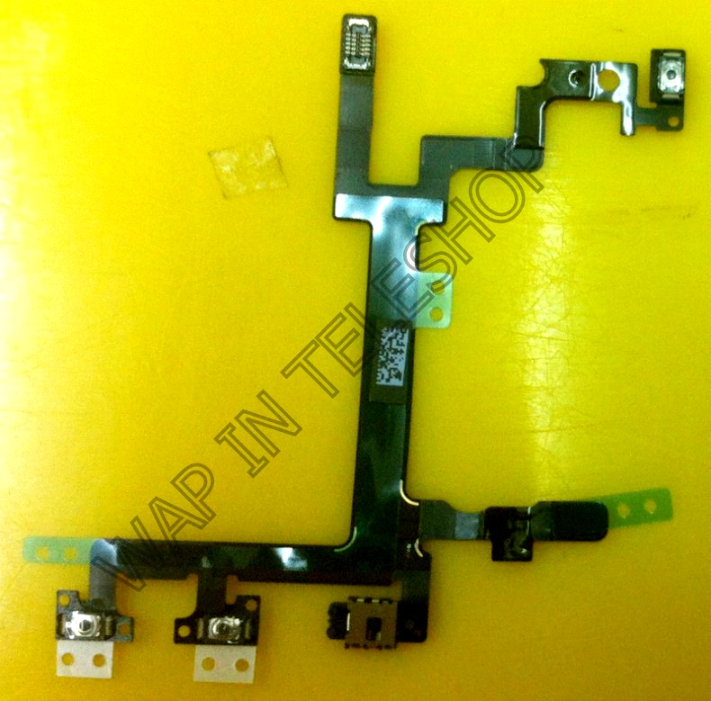 iphone 5 Power On/Off  Lock Mute Key Volume Button Ribbon Flex Cable