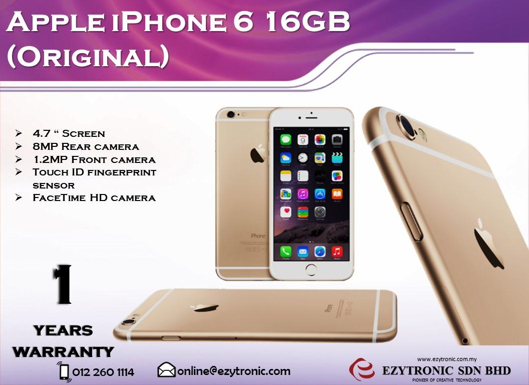 iphone 6 16gb iphone 6 16 selangor end time 12 28 2016 3 15 pm lelong my 11275