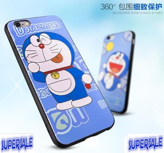 iPhone 6 4.7' Doraemon Cartoon TPU Casing