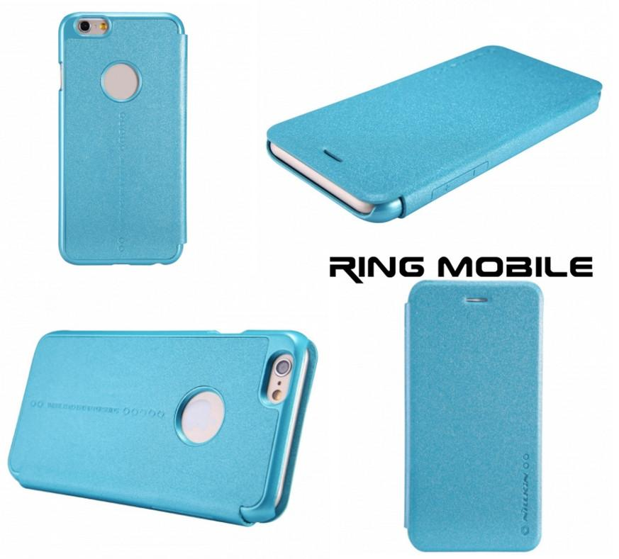 iPhone 6 4.7' Nillkin Sparkle Series Leather Case - Blue - rmtlee