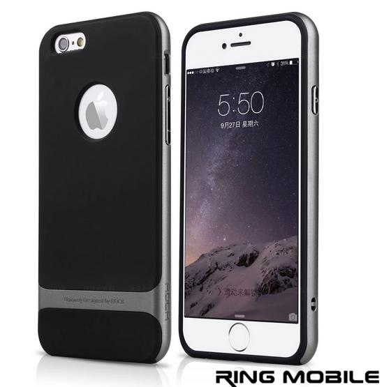 iPhone 6 4.7' Rock Royce series Ultra Thin Back Case / Grey - rmtlee