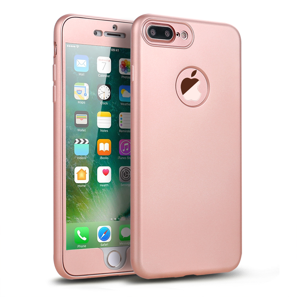 iphone 6 full body 360 case pink