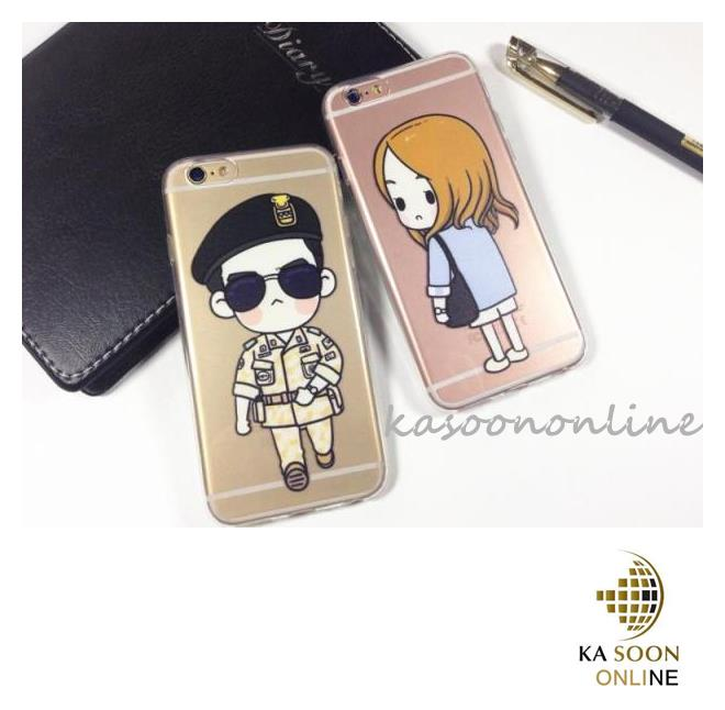 new product c0672 3aaa8 iPhone 6/6s 4.7'', iPhone 6Plus 5.5'' Korea Couple TPU Case