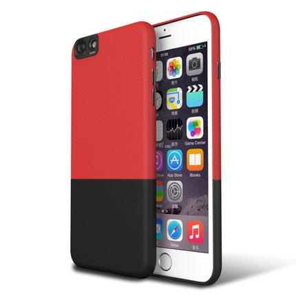 iPhone 6/6s 6Plus Matte Hard Two Tone Color Case Casing Cover