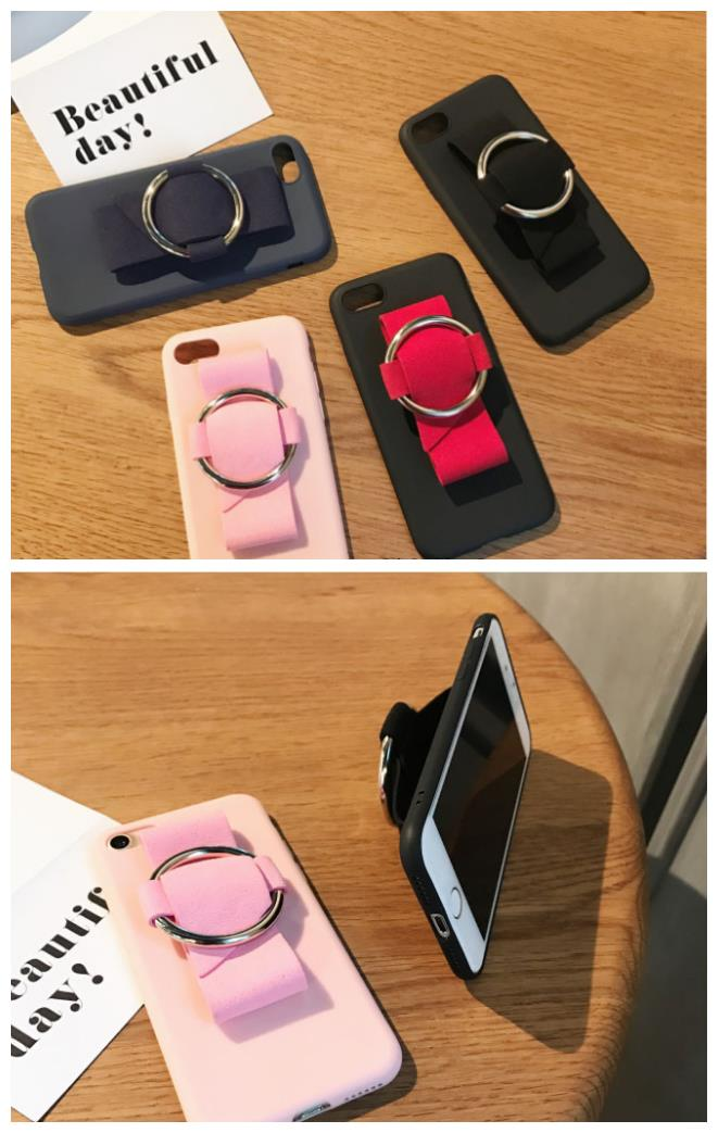 iPhone 6/6s/7 4.7'',6Plus/6sPlus/7 Plus 5.5'' Fashion Case with Ring