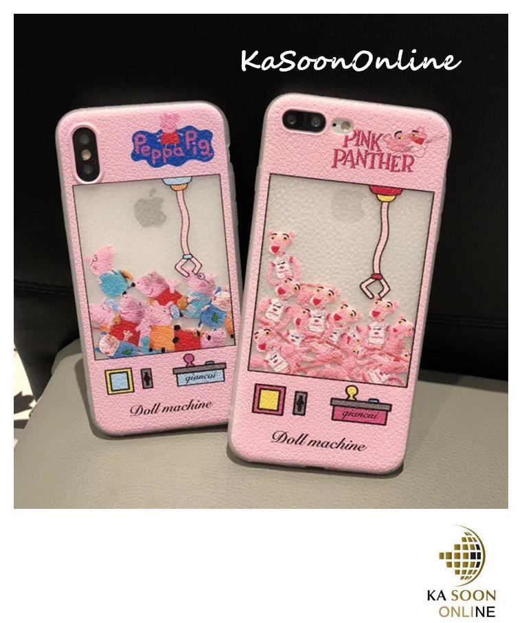 the best attitude 62e5d f60f3 iPhone 6/6s,7,8 4.7'',6Plus,7Plus/8Plus 5.5'',X Doll Machine Case