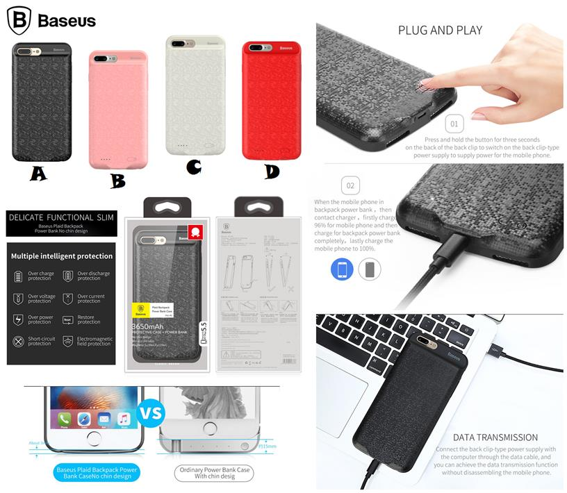 powerbank iphone 8 plus case