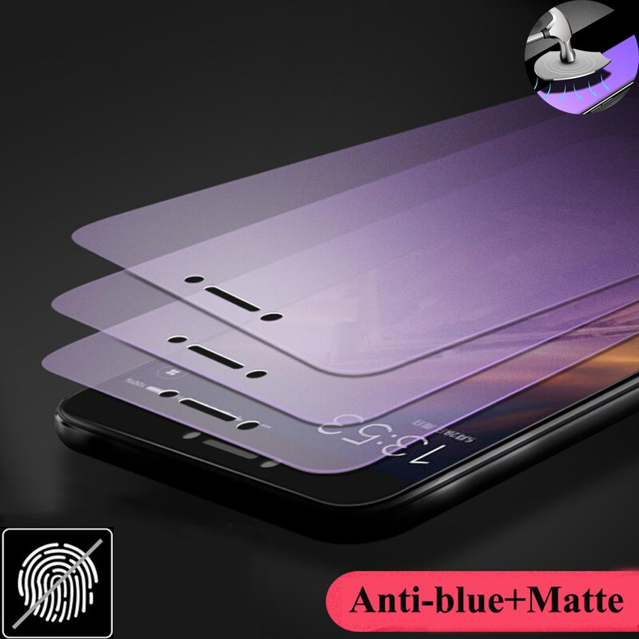 iPhone 6 / 6S Anti Blue Ray Matte AG 9H Tempered Glass