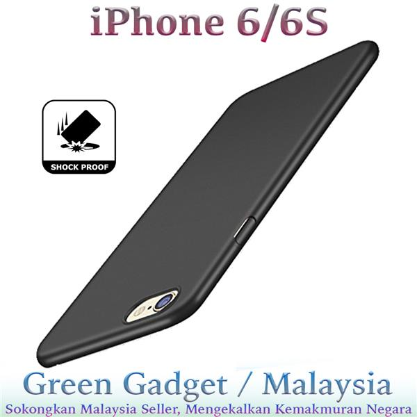 iPhone 6/6S Case Cover Thin Fit Hard (Black)