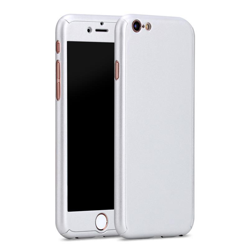 check out a2ca0 aff63 iPhone 6/6S Full Cover Case 360 Degree Protection (Silver)