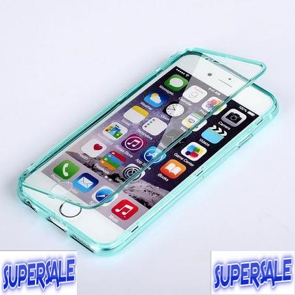 iPhone 6/6S Mobile Phone Silicone Protective Soft Case Casing