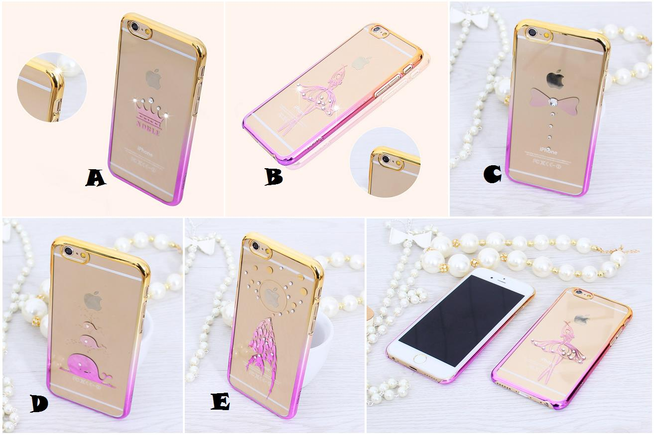 the best attitude 31d13 63a90 iPhone 6 6S Plus Diamond Pink Gold Chrome Case Cover *FREE SP*