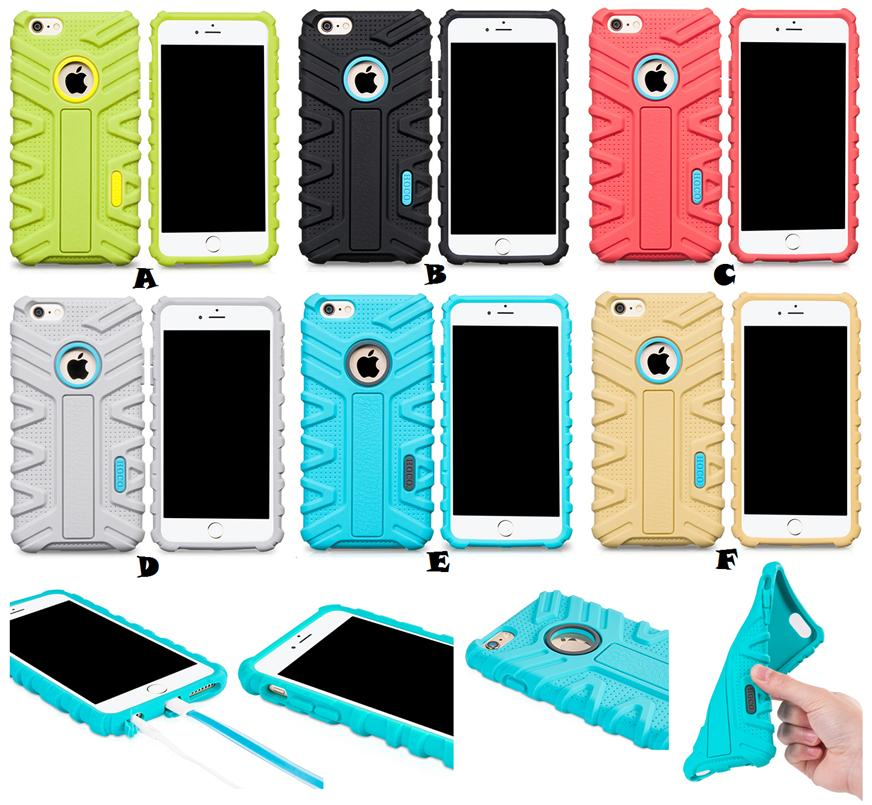on sale 5bc81 71144 iPhone 6 6S Plus HOCO Anti Shock Proof Super Soft Case Cover *FR