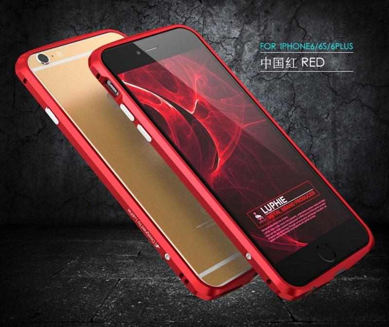 premium selection af2f5 1b3c1 IPHONE 6 6S Plus Note 3 4 5 S6 Mate Honor 7 8 Luphie Metal Case Casing