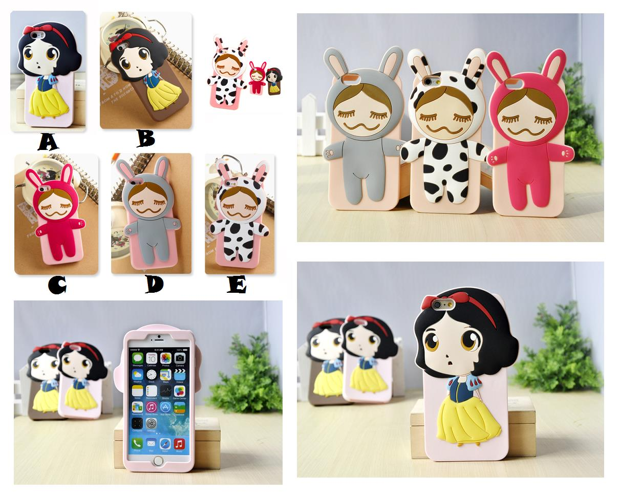 the latest d349e 19b51 iPhone 6 6S Plus RINKA DOLL COW CINDERELLA 3D Case Cover *FREE SP