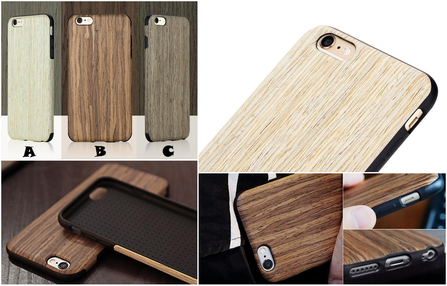 084d8035ee iPhone 6 6S Plus ROCK Grained Wood (end 12/17/2019 10:15 PM)