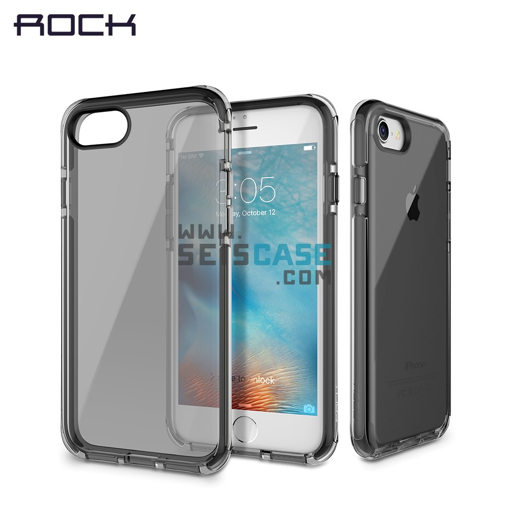 new style dd52c 8602d iPhone 6 6s Plus Rock Guard Series Shockproof Case Green Black
