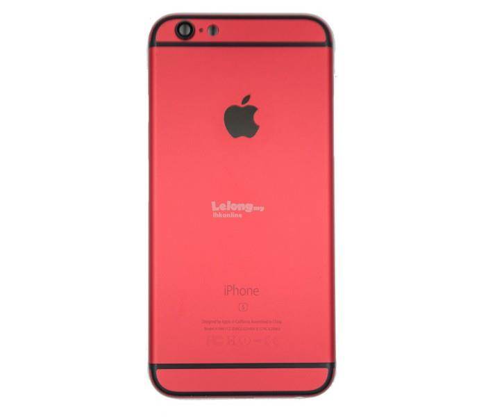 new product b3018 79c45 Iphone 6 6S Red Housing body Parts Full Set With Imei Numbers