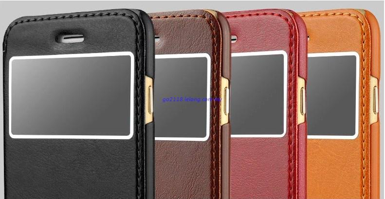 Iphone 6 High Grade Leather case cover Casing