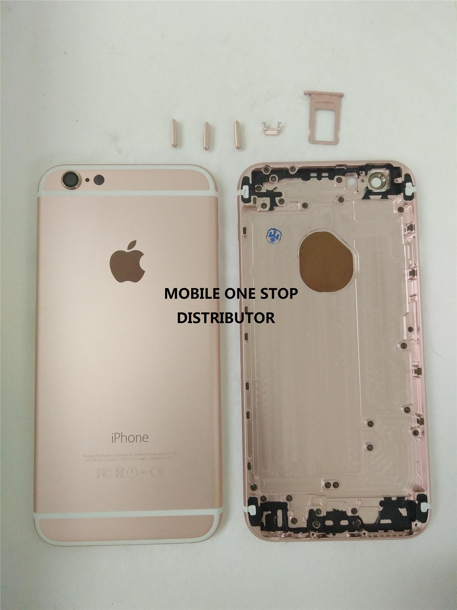 IPhone 6 Housing Frame Bezel Sparepart - Rose gold