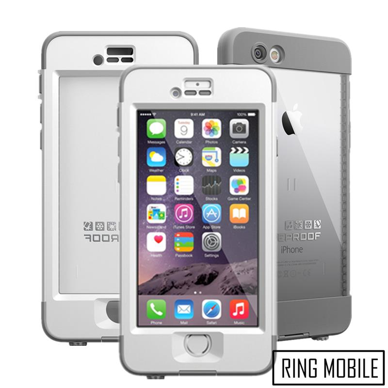 iPhone 6 Plus 5.5  Lifeproof Nuud Series WaterProof Cover Case - White. ‹ › ac6923dfc48d