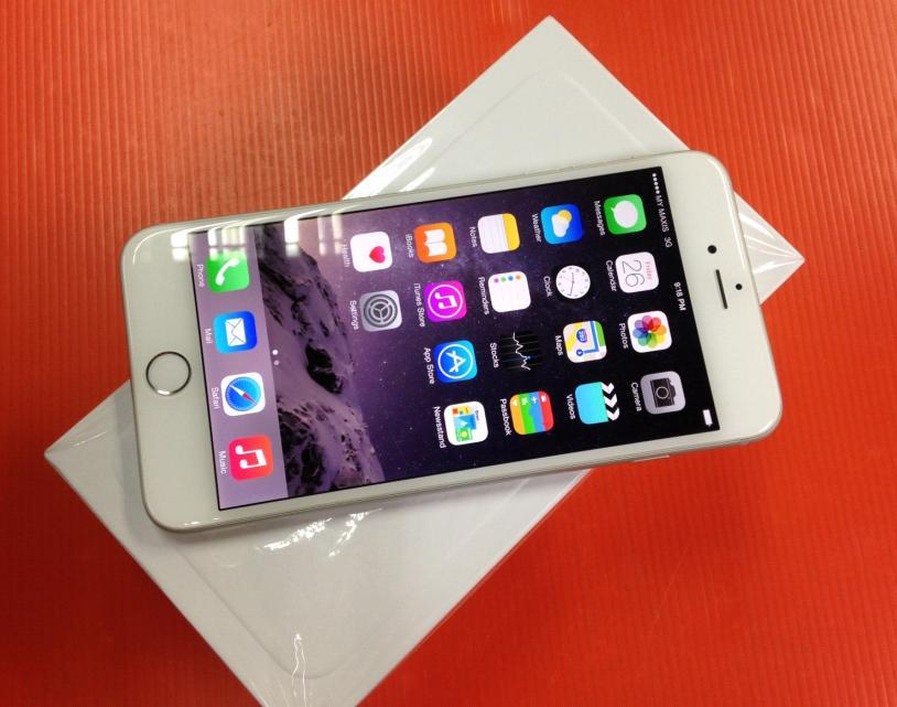 IPHONE 6 PLUS 64GB MY SILVER USED RM1399 FREE CASE ORI SET