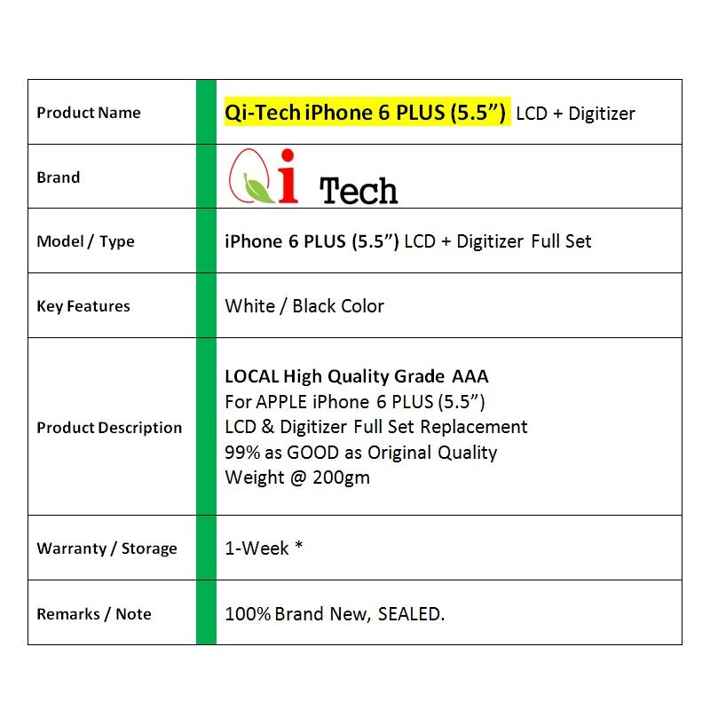 iPhone 6 Plus 6s PLUS LCD Screen with Digitizer and Tools
