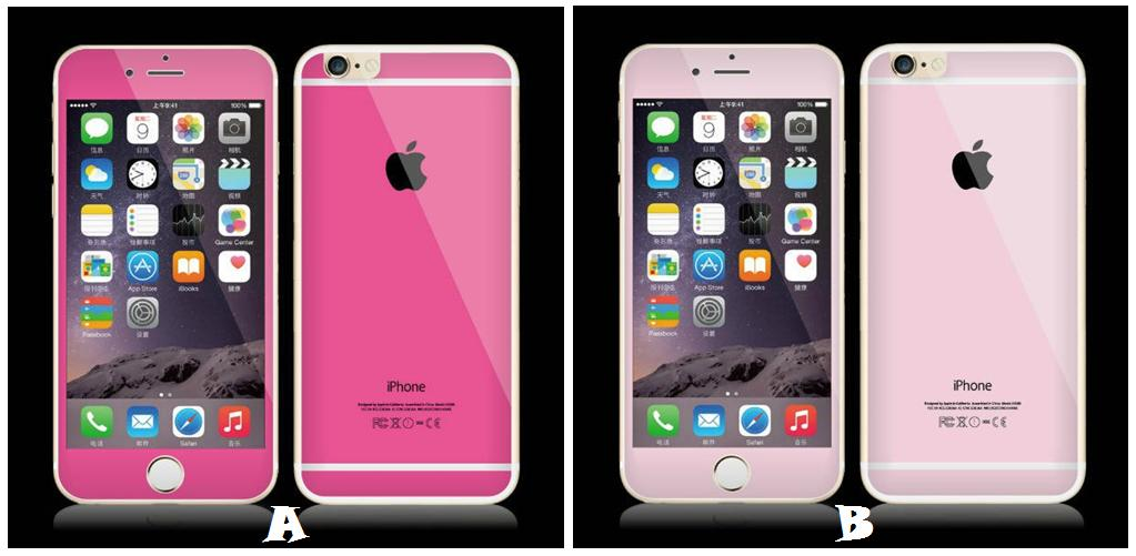 low priced 4ead4 e530a iPhone 6 Plus PINK Diamond Tempered Glass Screen Protector *FREE GIF