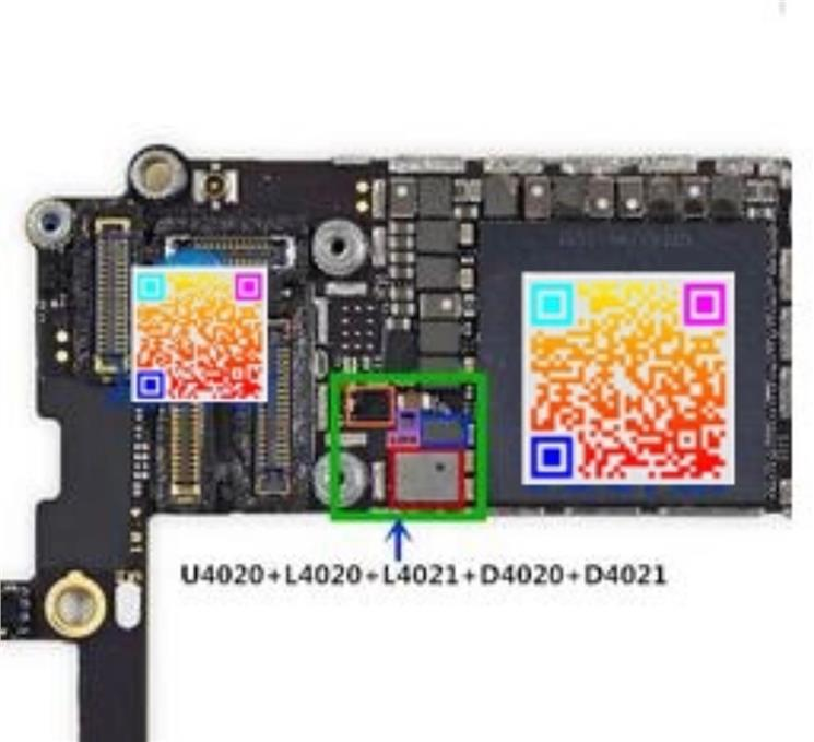 buy online 08f0c 6fd2f iPhone 6S Backlight ic U4020 +Coil L4020 L4021+ Diode D4020 D4021