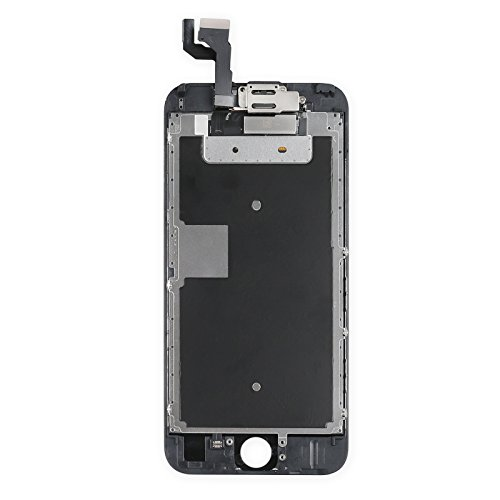 ~ for iPhone 6s Digitizer Screen Replacement Black - Ayake 4.7'' Full LCD Disp