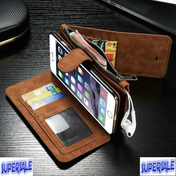 iPhone 7 / 7 Plus Wallet Purse Magnetic Casing Case Cover