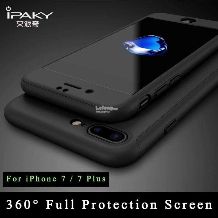 hot sales 85e4f 6bc05 iPhone 7 / 7Plus Case , iPaky Slim 360 Full Cover + Screen Protector